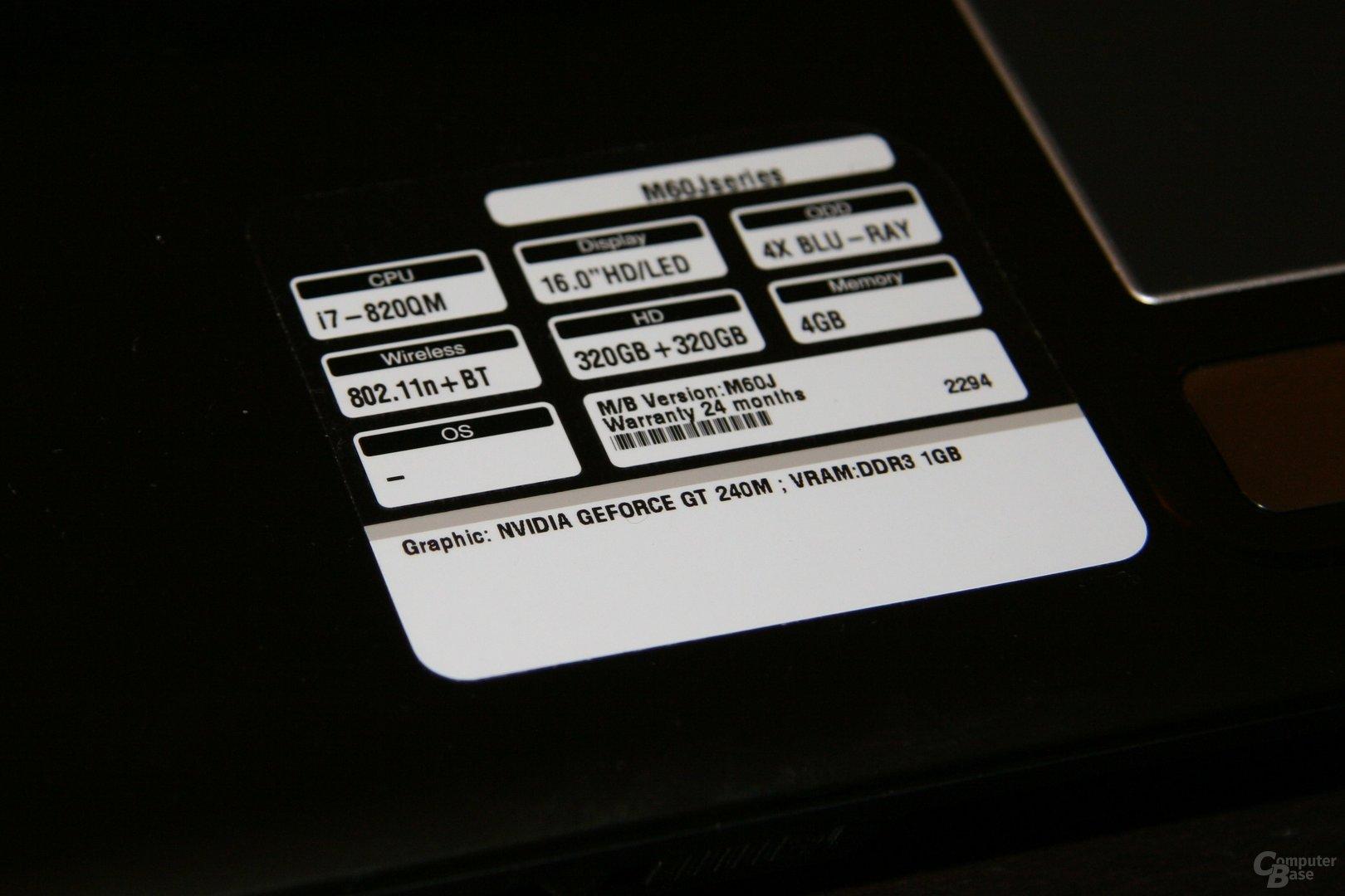 Asus M60J