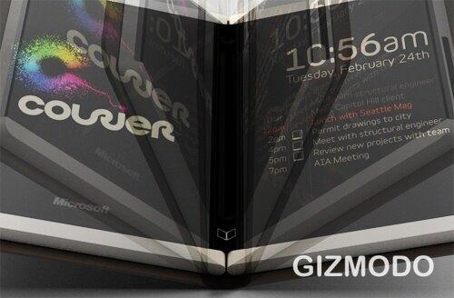 Microsoft Courier Booklet | Quelle: Gizmodo.com