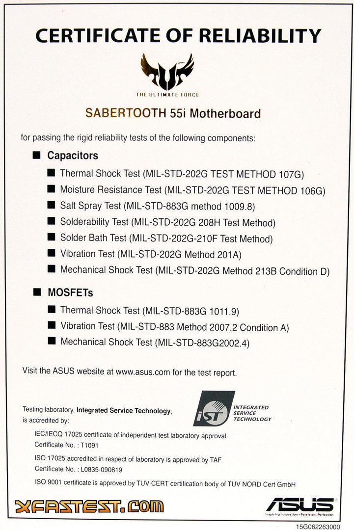 Asus Sabertooth 55i