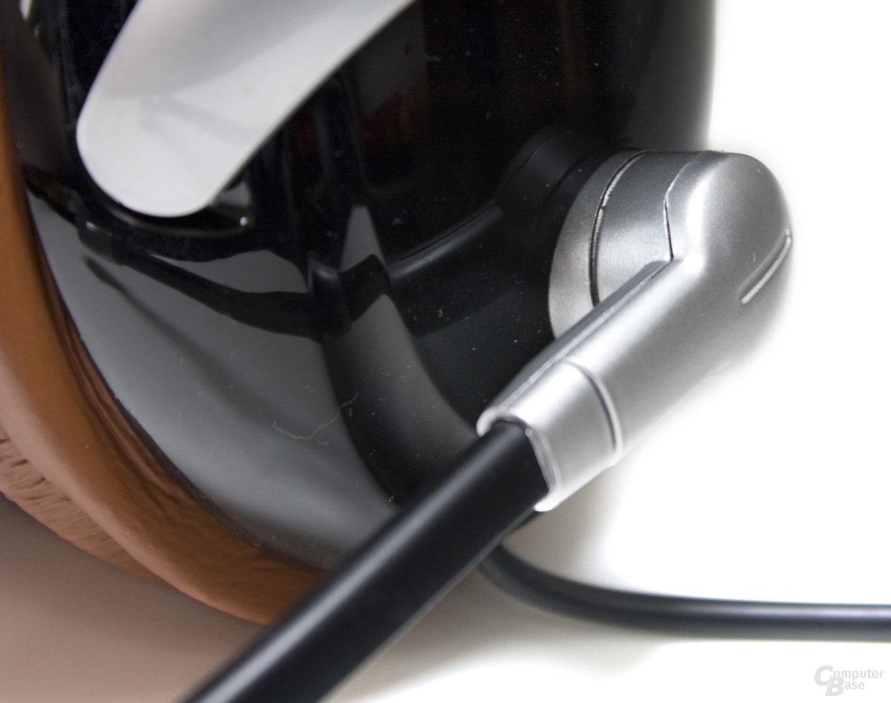 einfaches Gehäuse beim Mikrofon