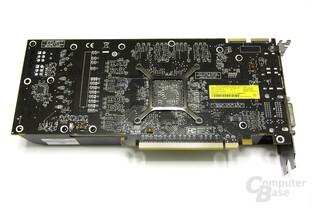 Radeon HD 5850 Rückseite