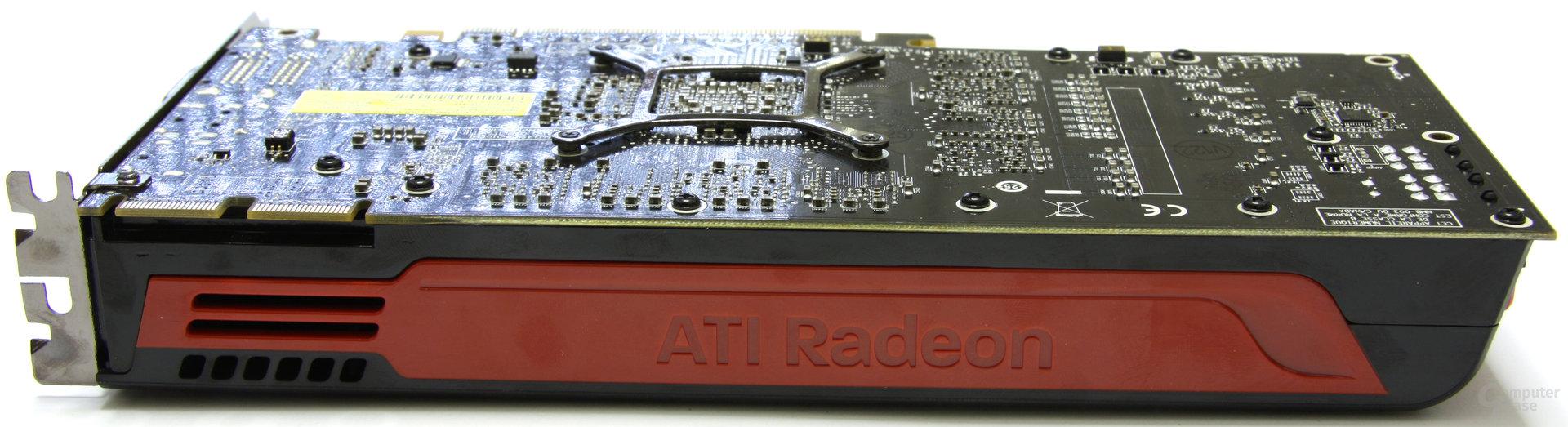 Radeon HD 5850 Schriftzug
