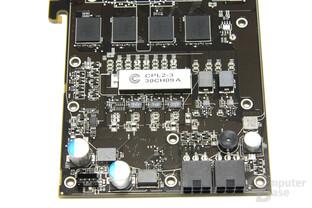 Radeon HD 5850 Spannungswandler