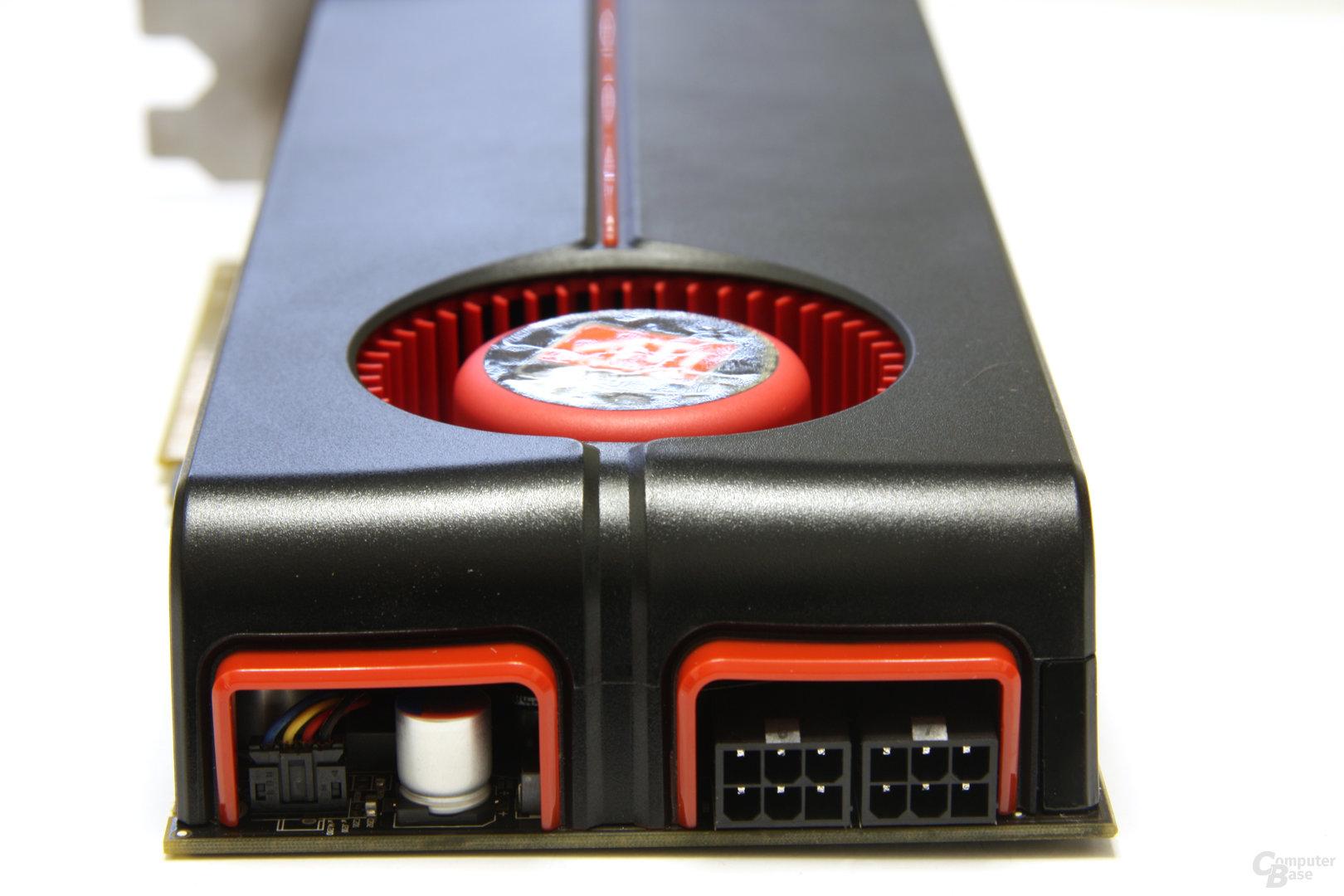 Radeon HD 5850 Stromanschlüsse