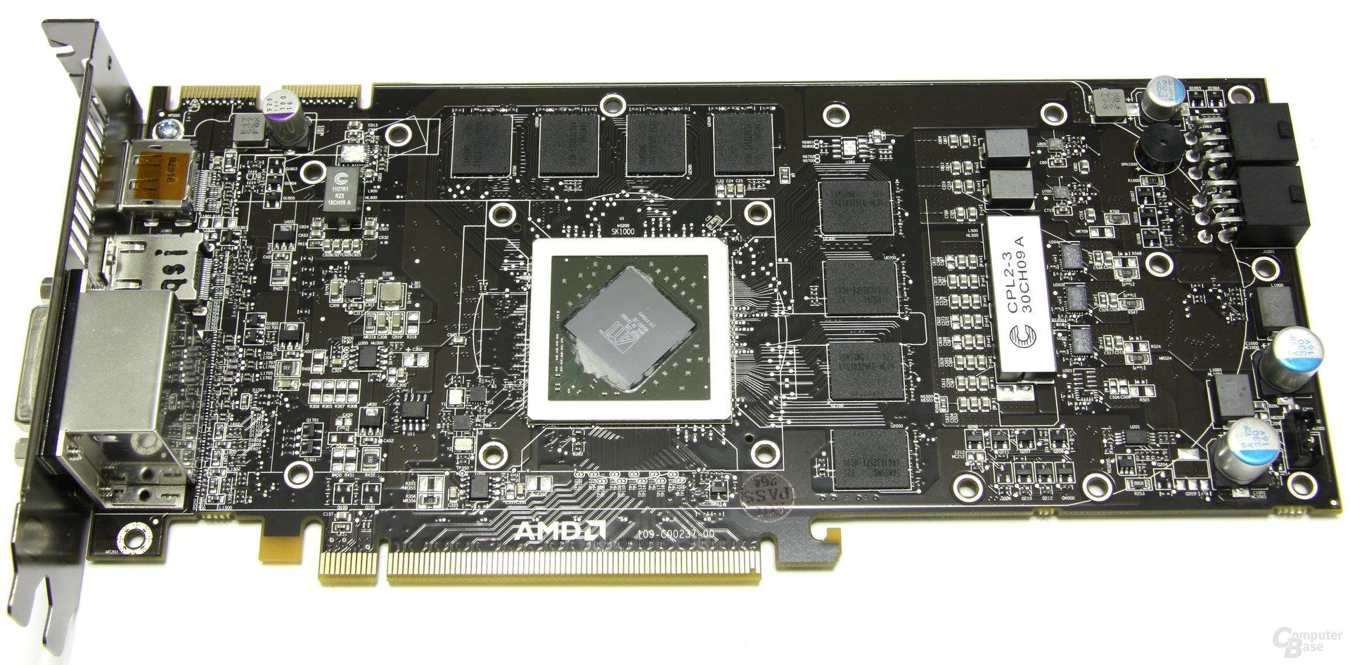 Radeon HD 5850 ohne Kühler