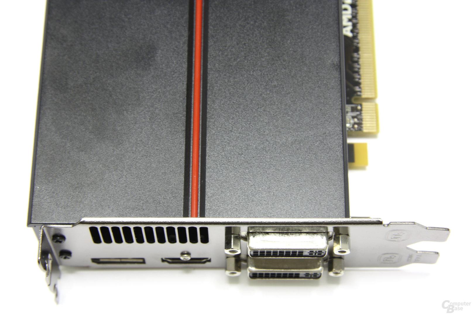 Radeon HD 5850 Anschlüsse