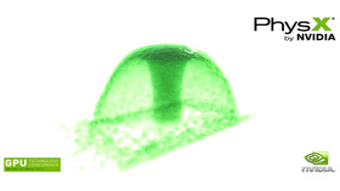 PhysX-Techdemo für Fermi