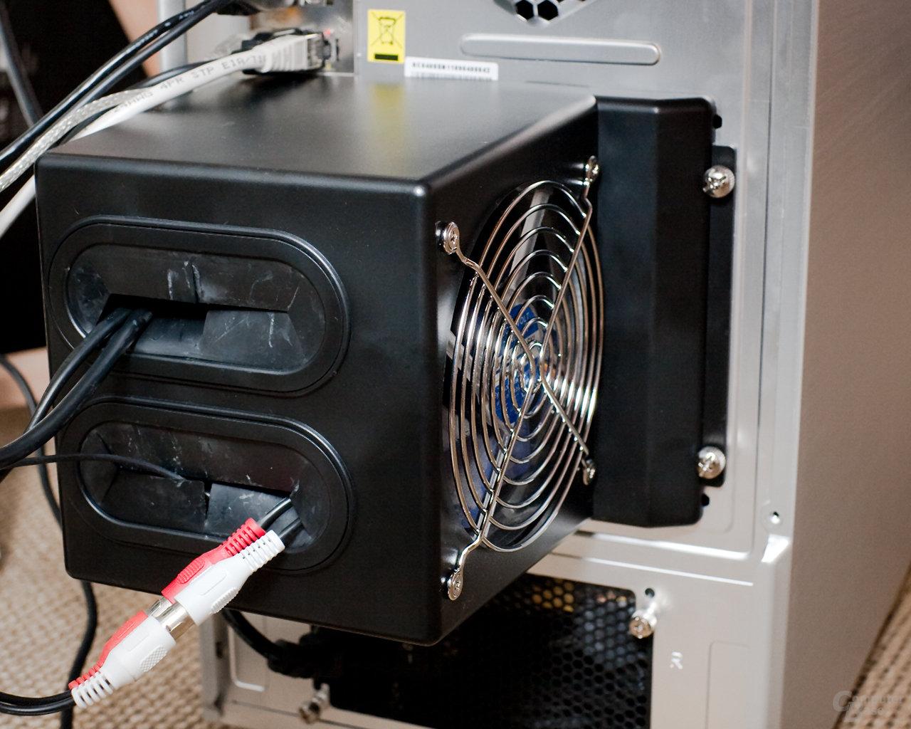Cooler Master ATCS 840 – Luftkanal