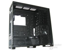 Corsair Obsidian 800D – Wechselrahmen und Festplattenlüfter