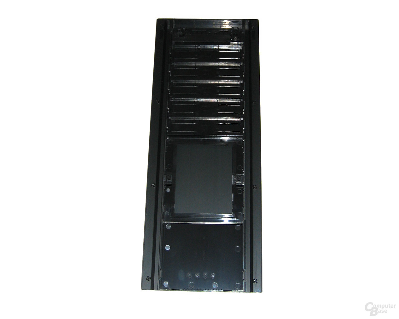 Corsair Obsidian 800D – Front (Rückseite)