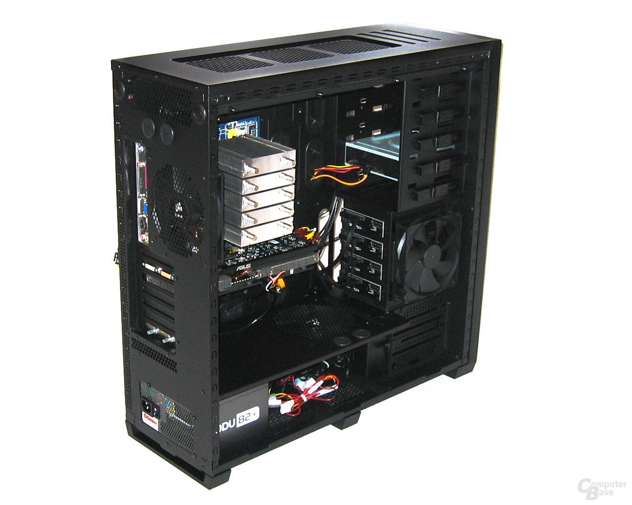 Corsair Obsidian 800D – Hardware vorn