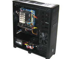 Corsair Obsidian 800D – Hardware hinten