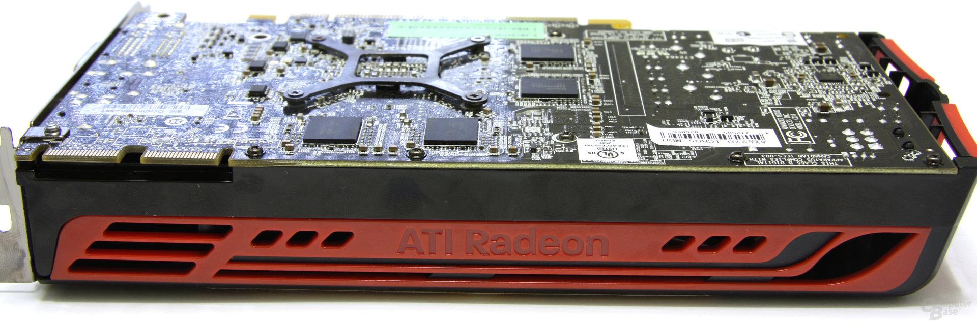 Radeon HD 5770 Schriftzug
