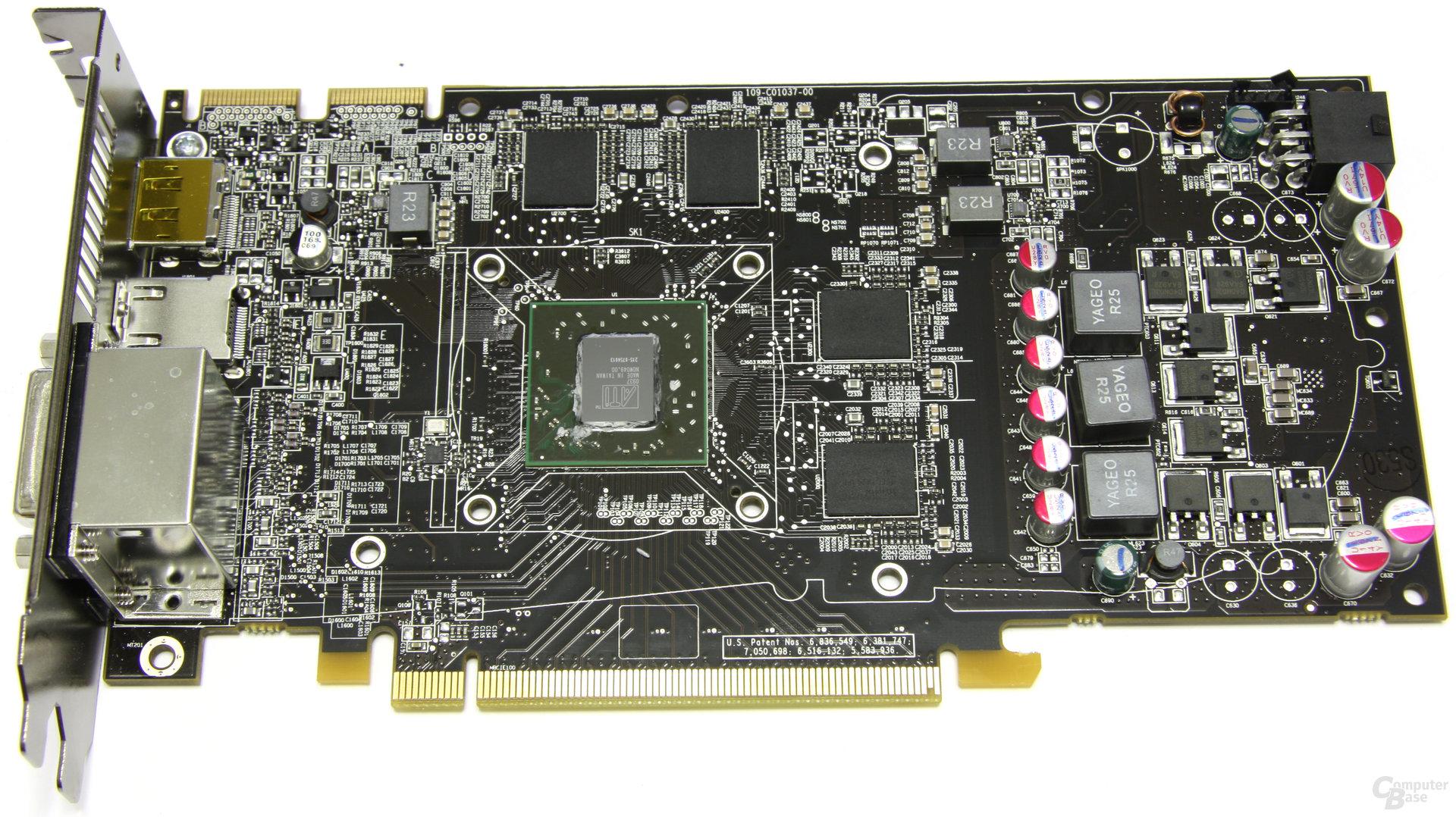 Radeon HD 5770 ohne Kühler