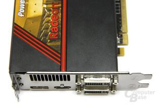 Radeon HD 5770 Anschlüsse