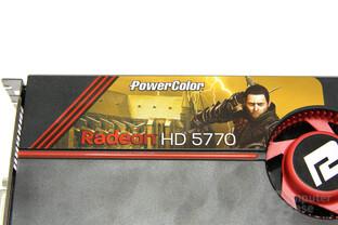 Radeon HD 5770 Aufkleber