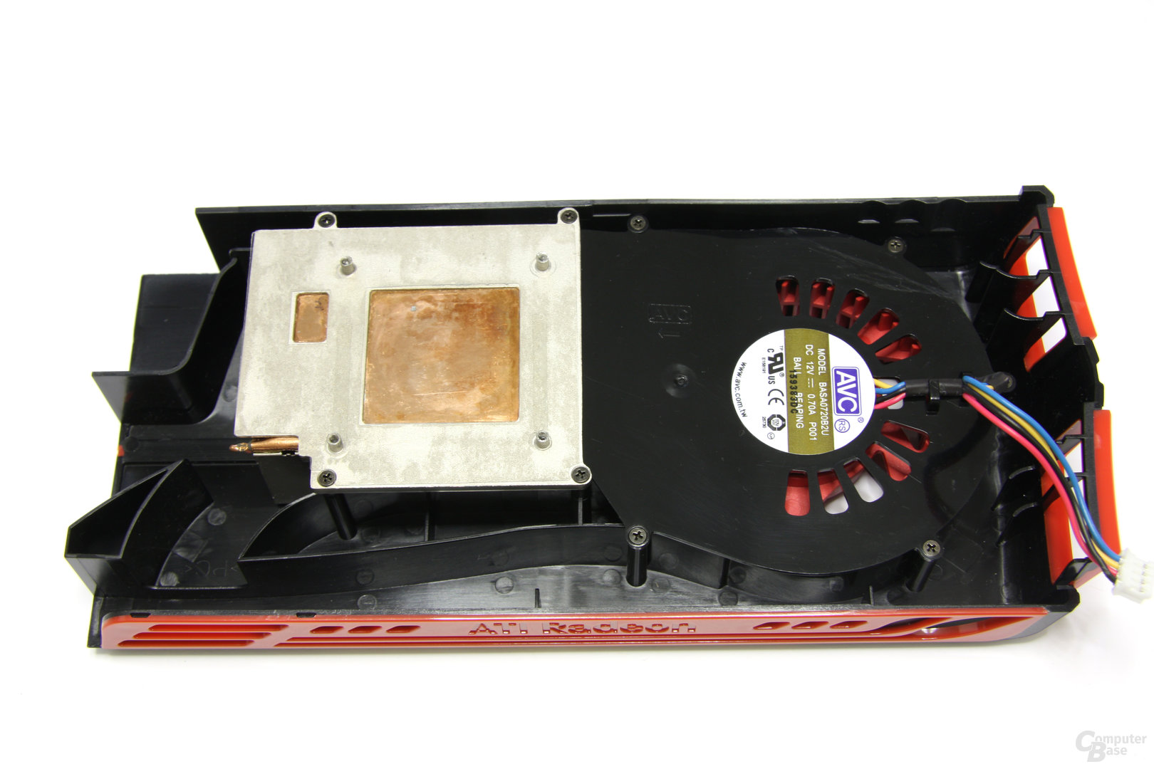 Radeon HD 5770 Kühlerrückseite