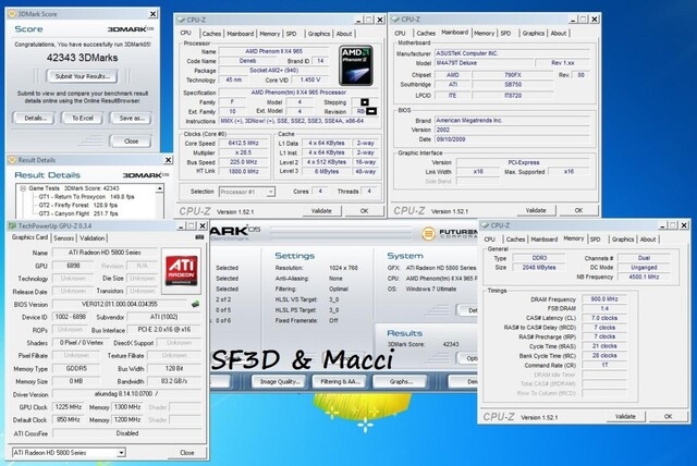 AMD Phenom II X4 965 Black Edition im C3-Stepping (?) bei 6,4 GHz
