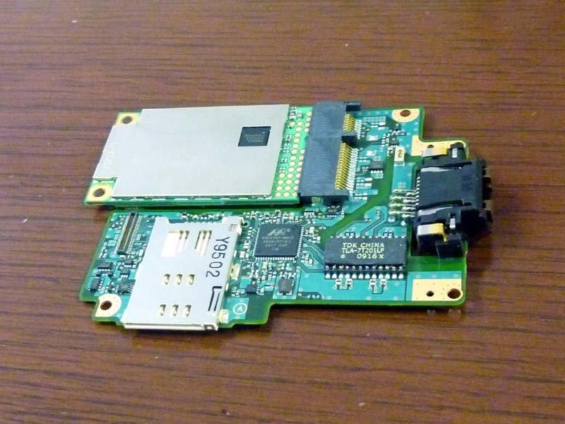 PCI Express Mini Card Slot mit WAN-Karte