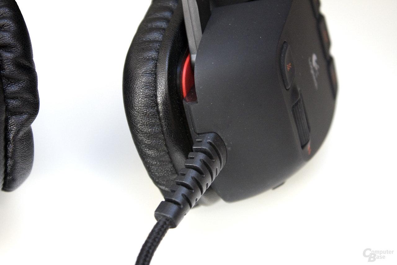 solides aber nicht lösbares Audio-Kabel