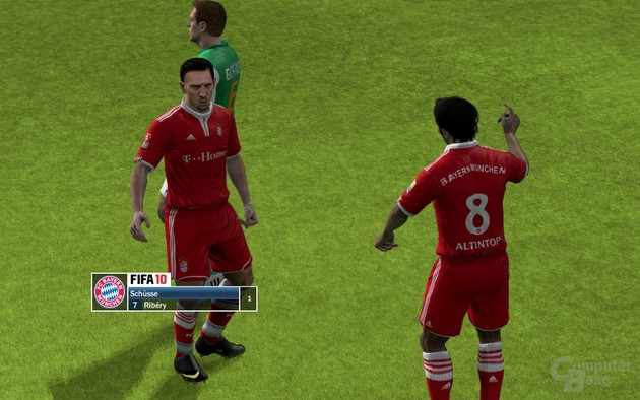 Immerhin: Die Gesichtsdetails in FIFA 10 gehen in Ordnung