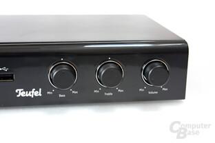 Klang- und Lautstärkeregler