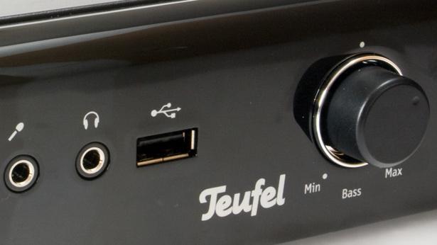 Teufel Concept B 200 USB im Test: Der Ton in Stereo kommt über USB