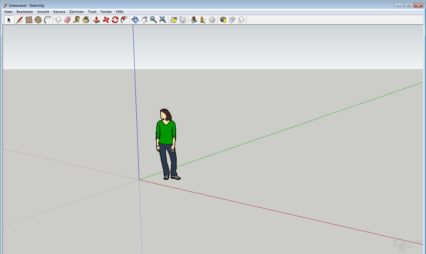 Google SketchUp in Windows 7