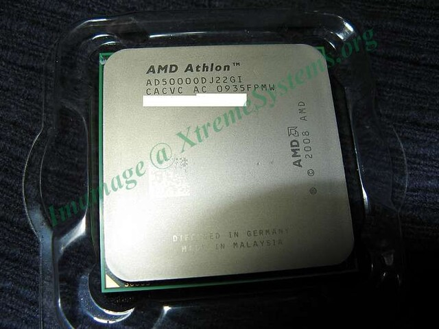 Athlon X2 5000+ in 45-nm-Fertigung