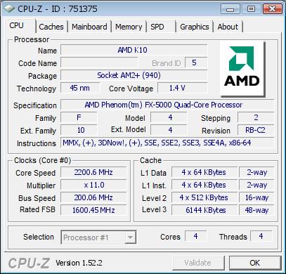 Athlon X2 5000+ in 45-nm-Fertigung freigeschaltet