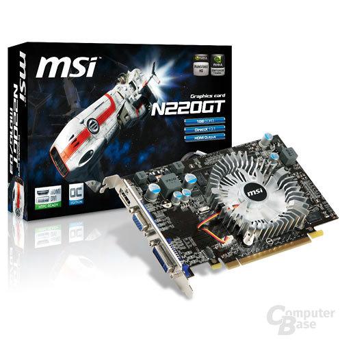 MSI N220GT-MD1G OC/D3