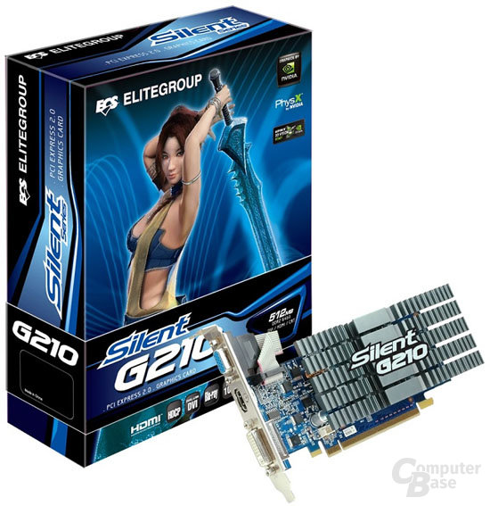 Elitegroup GeForce 210