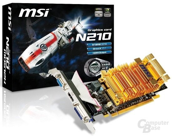 MSI GeForce 210
