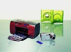 Sony Memory Stick in Druckern und Kameras