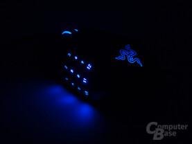 Pulsierende Rückenlogo-Beleuchtung