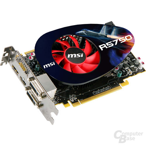 MSI Radeon HD 5750