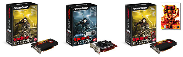 PowerColor Radeon HD 5750 und 5770
