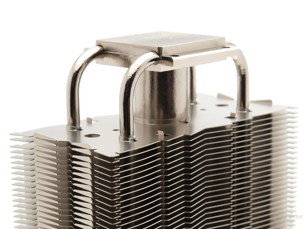 Besonderheit: 25- und 6-mm-Heatpipes kombiniert