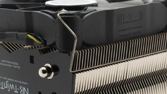 Noiseblocker Twintec im Test: 25-mm-Conductor trifft 6-mm-Heatpipe