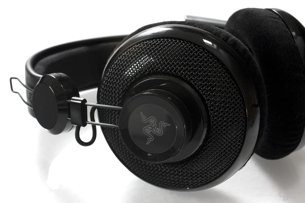 leichte Konstruktion des Headsets
