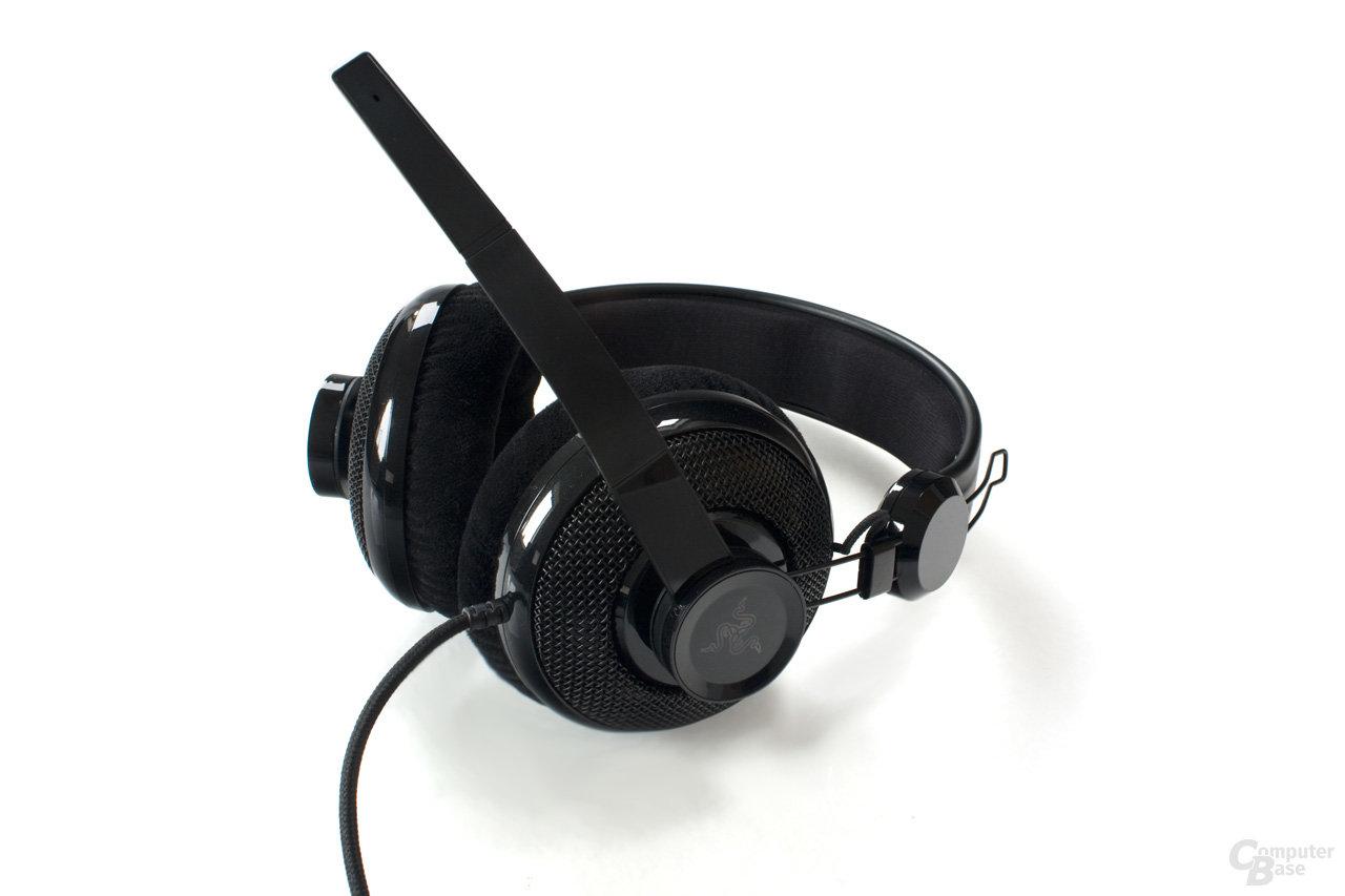 ausklappbares Mikrofon