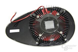 Radeon HD 5750 Kühlerrückseite