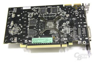 Radeon HD 5750 Rückseite