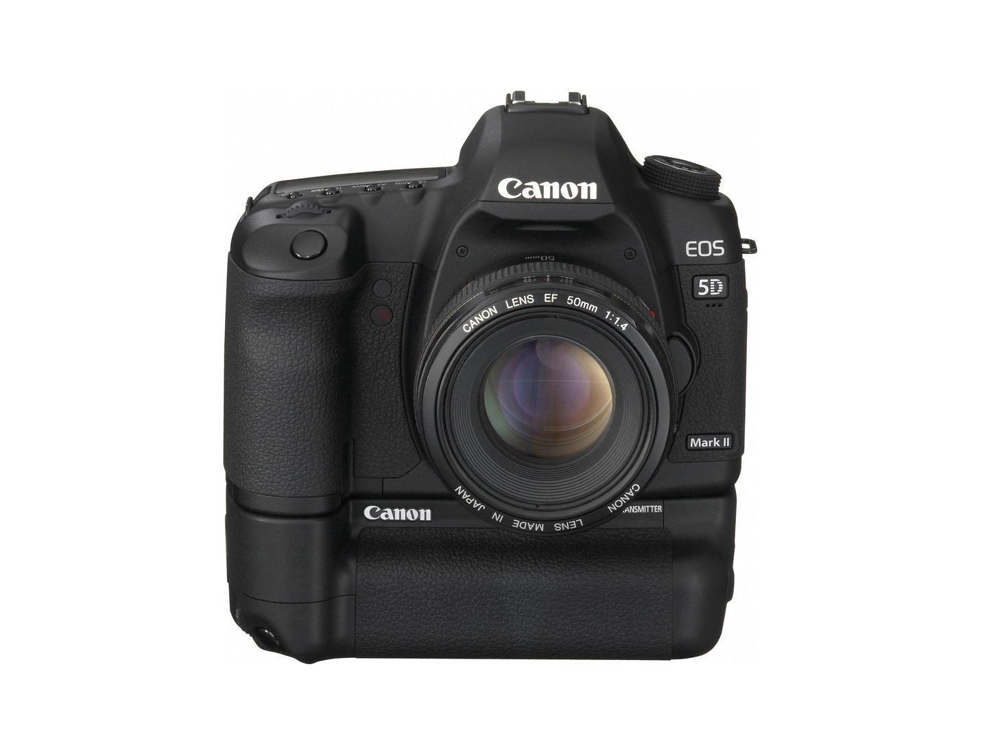 Canon EOS 5D Mark II mit WFT-E4 II