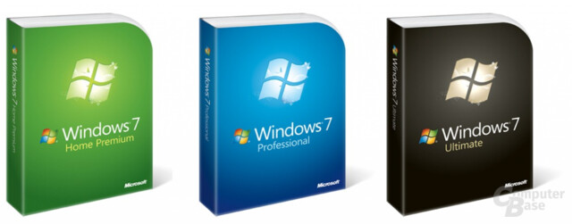 Windows 7 Editionen