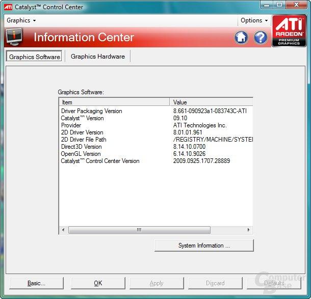 ATi Catalyst 9.10