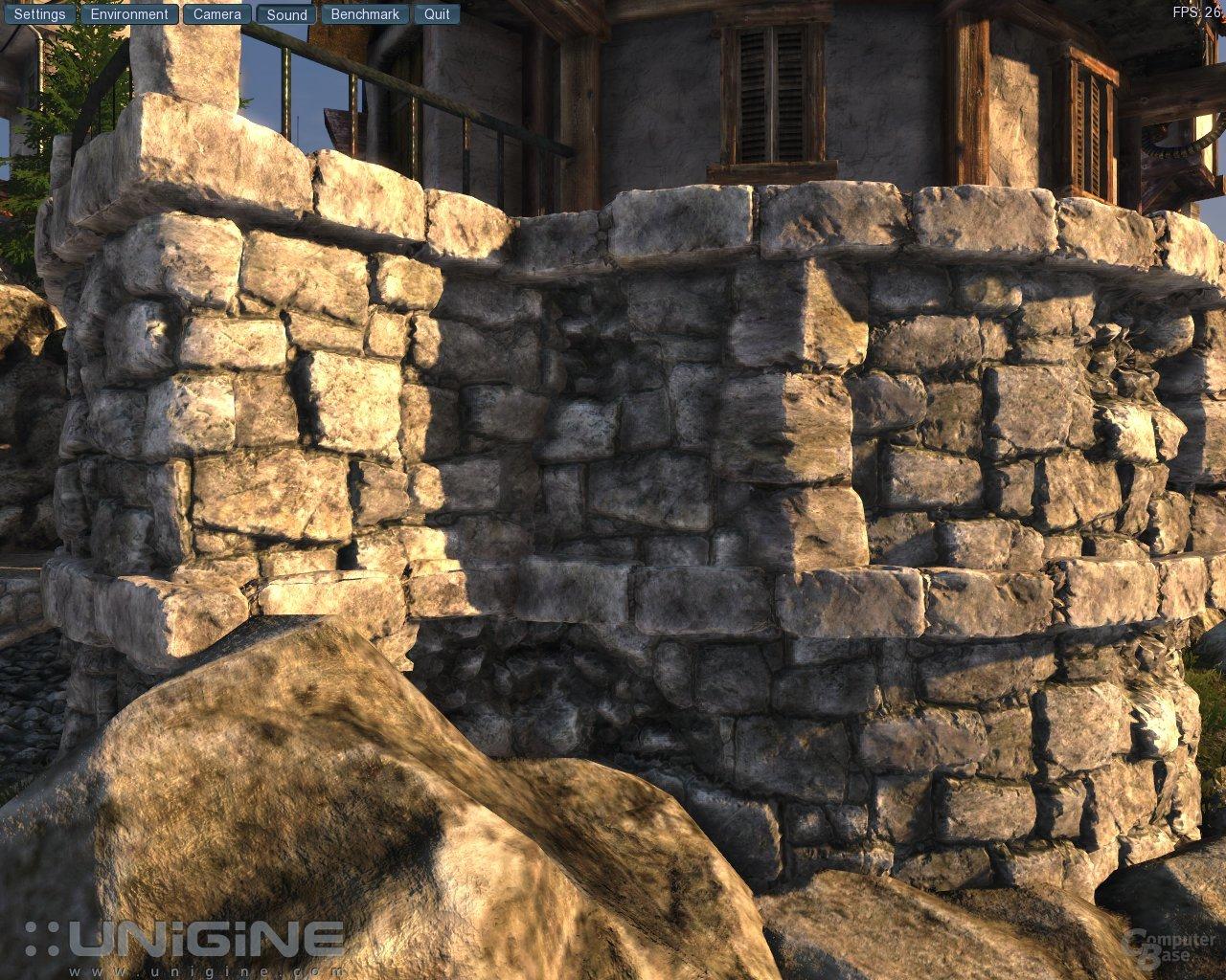Unigine-Engine mit DirectX 11 und Tessellation