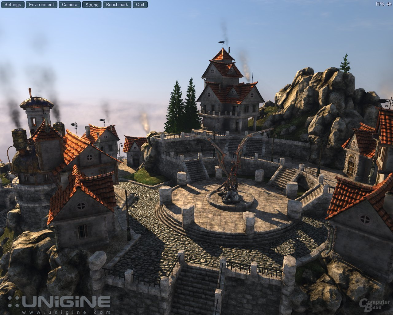 Unigine-Engine mit DirectX 11 und Tessellation - ComputerBase