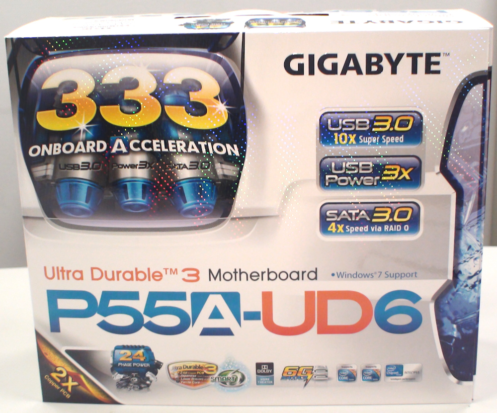 Gigabyte GA-P55A-UD6