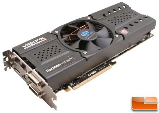 Sapphire Radeon HD 5870 Vapor-X